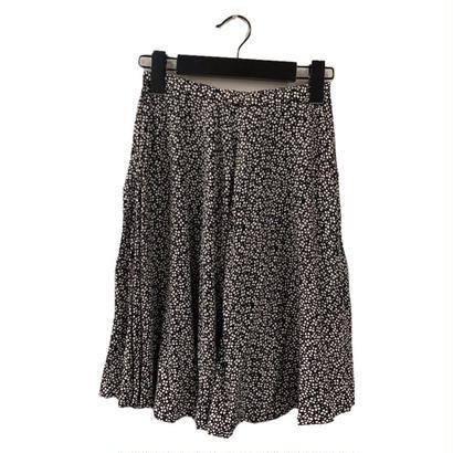 Christian Dior flower design flare skirt(No.3319)