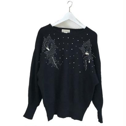 pearl design dolman sleeve knit