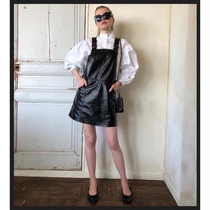 enamel jumper skirt