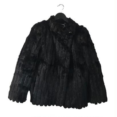 【スペシャルプライス】rabbit fur coat