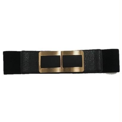 gold square design gom belt