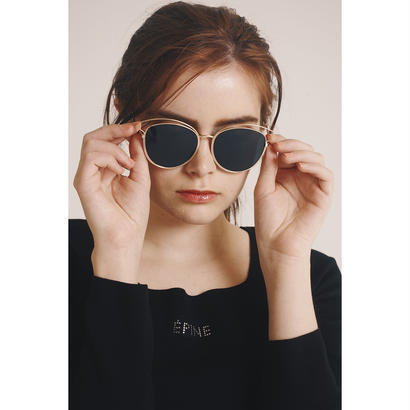 gold flame sunglasses