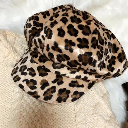 leopard casquette