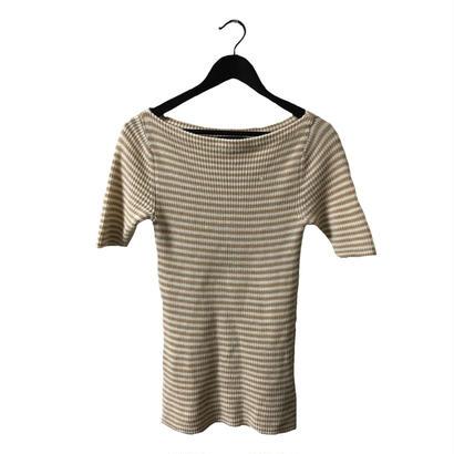 Ralph Lauren border summer knit tops