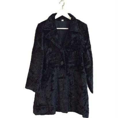 【スペシャルプライス】black fur coat