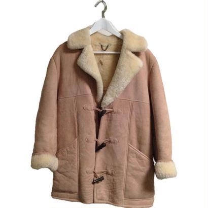 【スペシャルプライス】pink beige mouton coat