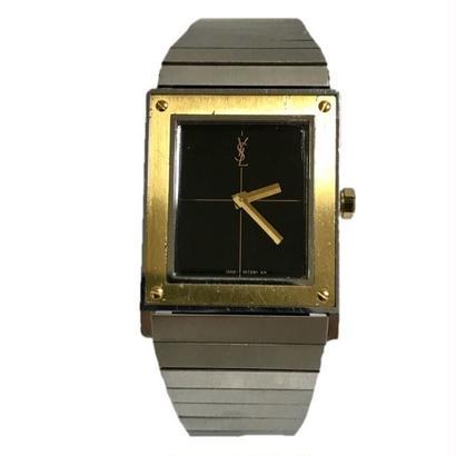 YSL square design Watch