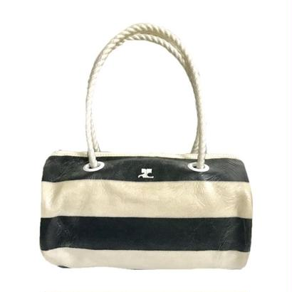 courreges border design hand bag