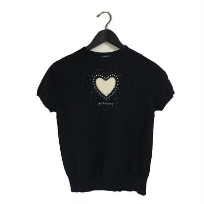 Burberry heart design cashmere knit