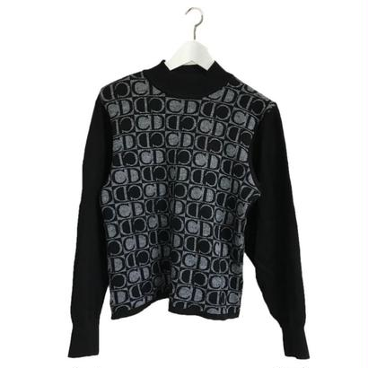Dior logo design knit