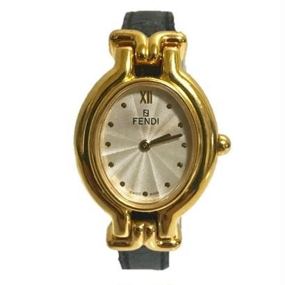 FENDI gold design Watch
