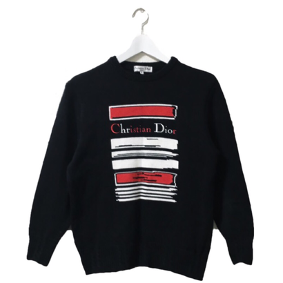Dior logo summer knit