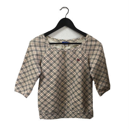Burberry check design sweat(No.3301)