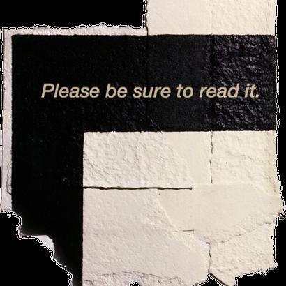 ご購入前に必ずお読み下さい。