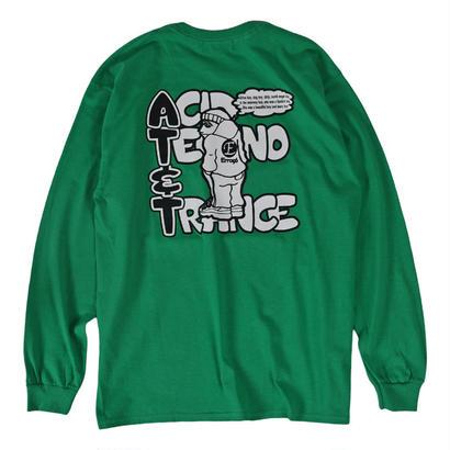 AT&T L/S TEE / GREEN