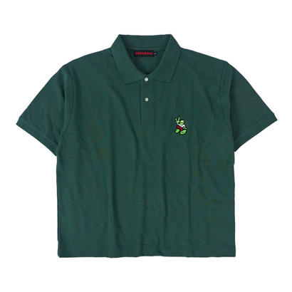 ALIEN POLO SHIRT / GREEN