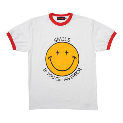 SMILE RINGER TEE/ RED