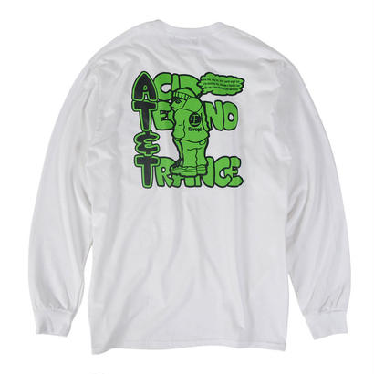 AT&T L/S TEE / WHITE