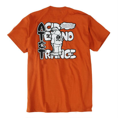 AT&T TEE / ORANGE BROWN