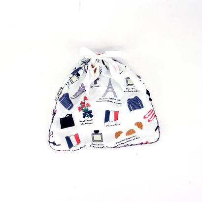 【FAD-1408I】巾着S- PARIS (パリ)
