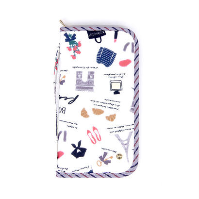 【FAD-1408F】パスポートケース- PARIS (パリ)