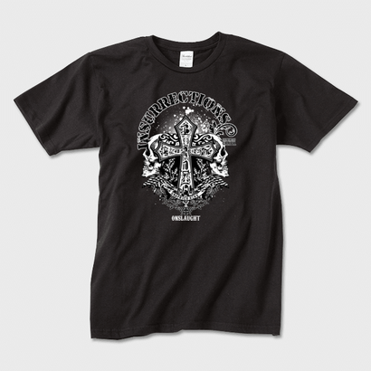 Insurrections (Black) / スカルロックTシャツ
