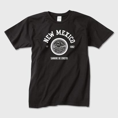 New Mexico  (Black) / カレッジロゴTシャツ