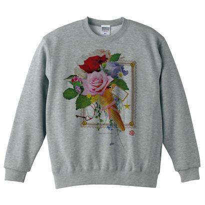 Floral sweets  / アートグラフィックスウェット