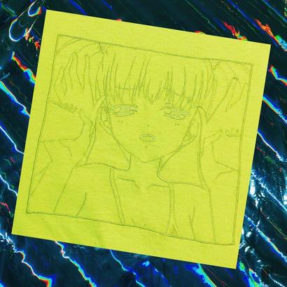 PT20018  アへ顔ロリータ刺繍ロンTEE