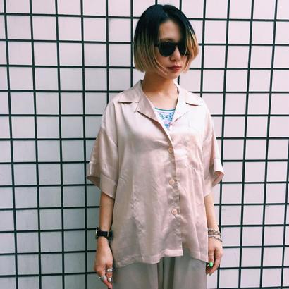 PA30053 サテンパジャマシャツ