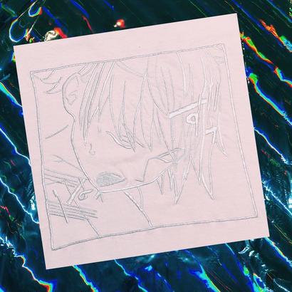 PT20017  アへ顔男の子刺繍ロンTEE