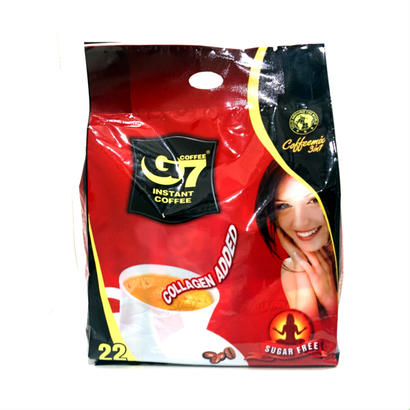 G7CAFE AU LAIT /NO SUGAR&WITH COLLAGEN (22pac)