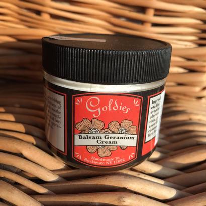 Goldie's Balsam Geranium Cream