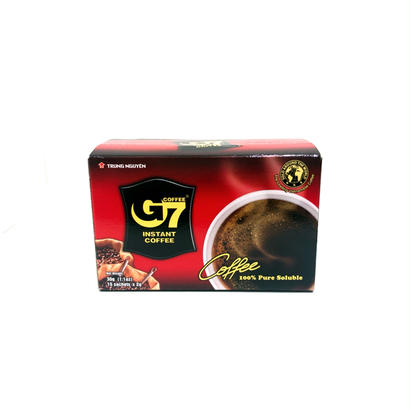 G7 PURE INSTENT COFFEE (15pac)