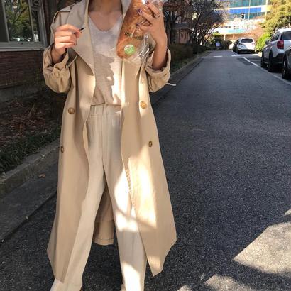 <期間限定>spring trench coat