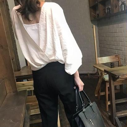puffback blouse