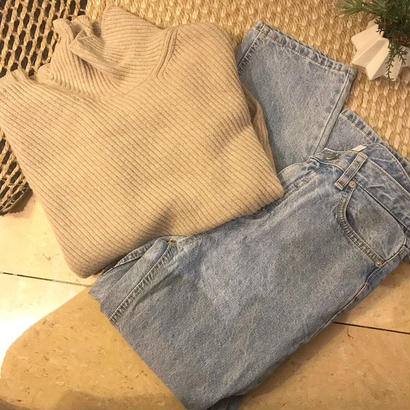 wool cashmere cable knit