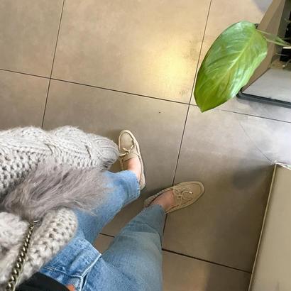 shorter right denim pants