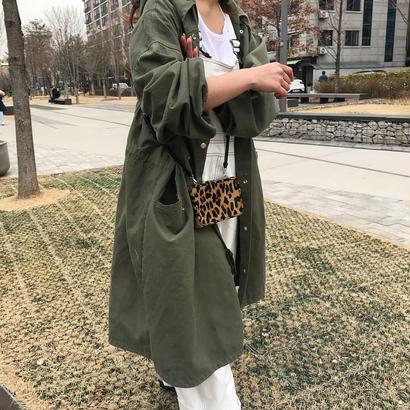 <先行発売>long military coat