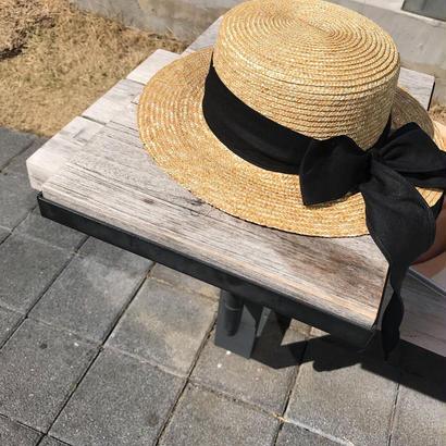 natural boater hat