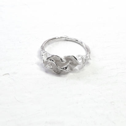 """auri ring"" wh small"