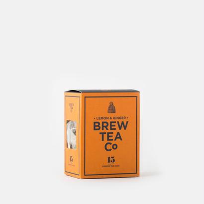 BREW TEA CO/LEMON&GINGER