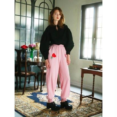 HONEY MI HONEYsatin rose pants17A-WV-07