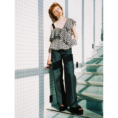 Honey mi Honey (ハニーミーハニー)  ginghamcheck blouse5月下旬18S-TA-40