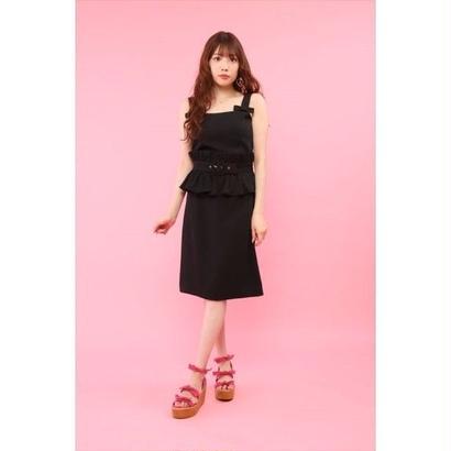 honey salon by foppish (ハニーサロン バイ フォピッシュ)  フリルベルト付セットアップ 5月下旬FHW-0875