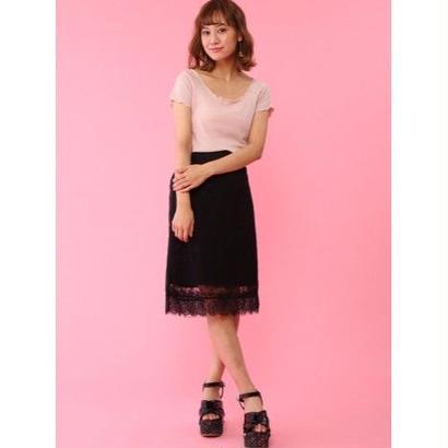 Honey Salon【1月下旬発送予定】レーシースカートFHW-0847