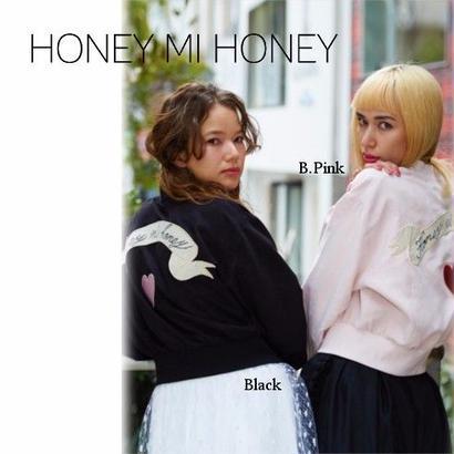 Honey mi Honey (ハニーミーハニー) embroidery blouson  【17S-WV-11】