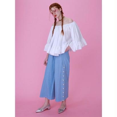 Honey mi Honey (ハニーミーハニー) offshoulder flare blouse【  17S-TA-29】