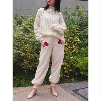 Honey mi honey 『WHOLE9YARDS』Waffle knit tunic  AA17017TP