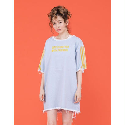 littlesunnybite DENIM TEE DRESS